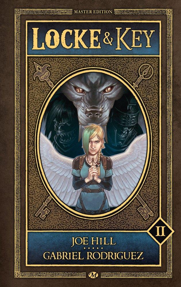 Locke & Key - Master Edition, volume II : La Couronne des ombres / Les Clés du Royaume