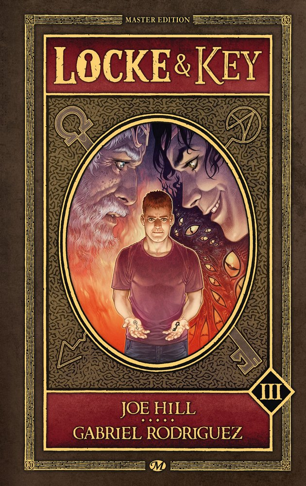 Locke & Key - Master Edition, volume III : Rouages / Alpha & Oméga